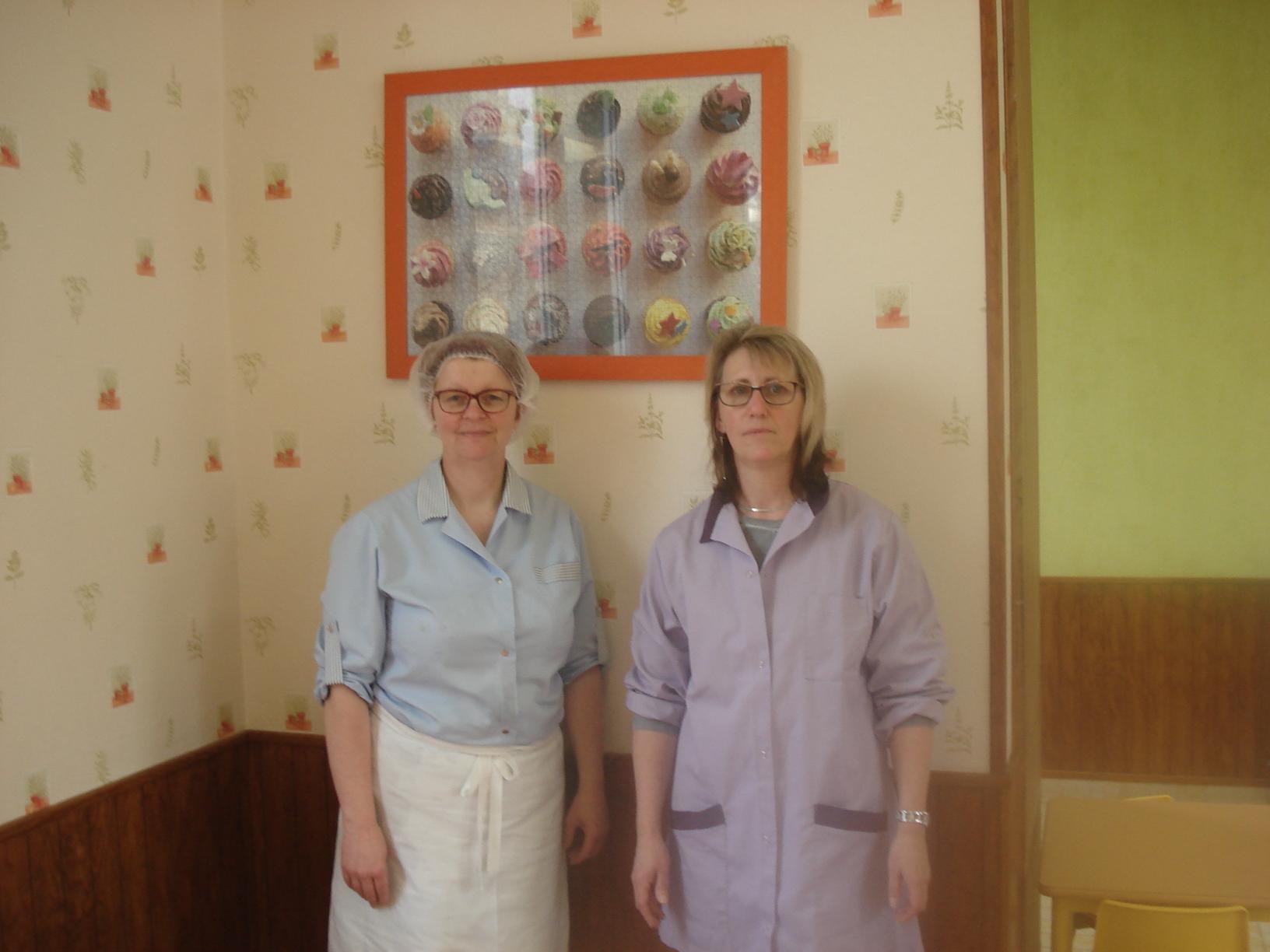 Cantine et garderie Autruy : Caroline et Murielle
