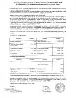 Note de presentation CA 2019 Lotissement