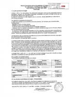 Note de présentation budget 2020 Lotissement
